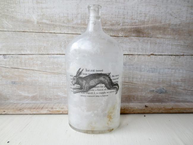 Botellas vintage de boticario