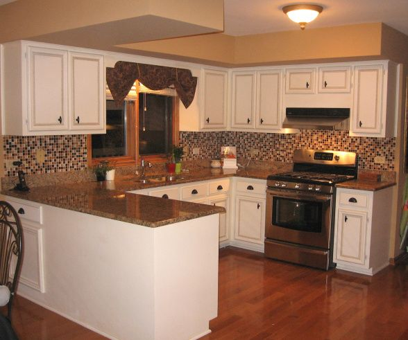 Remodeling small 90 39 s kitchenn kitchen update on a for Budget kitchen decorating ideas