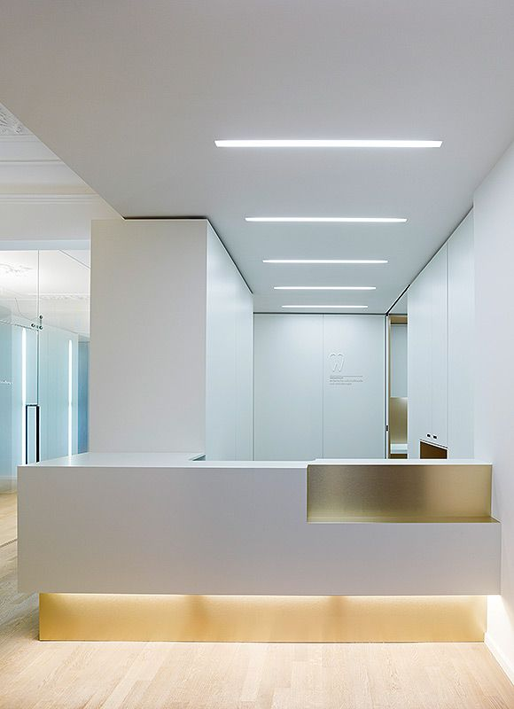 Dental Clinic in Munich - Feature lighting