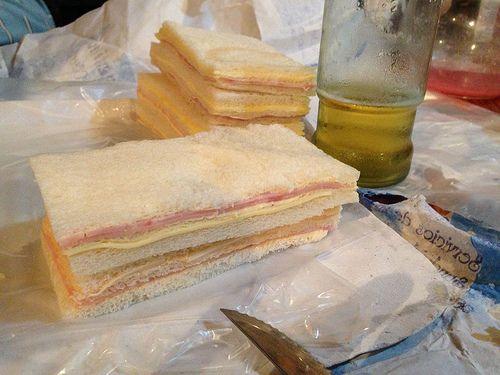 Feb 17 - my kids favorite Argentine tea sandwiches aka sandwiches de miga