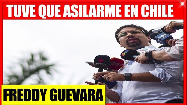 Freddy Guevara Asilado en Chile ante inminente Arresto Noticias de Ultima hora en venezuela