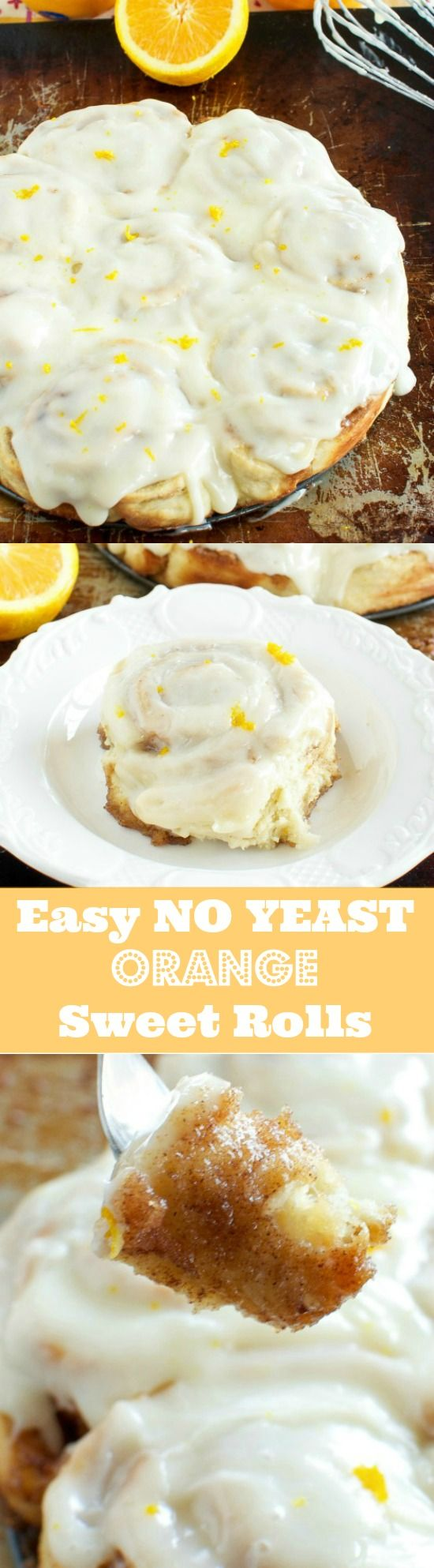EASY NO YEAST ORANGE CINNAMON ROLLS (buttermilk dough)
