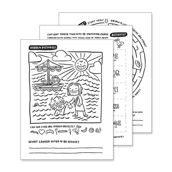 new testament coloring pages (come follow me  march
