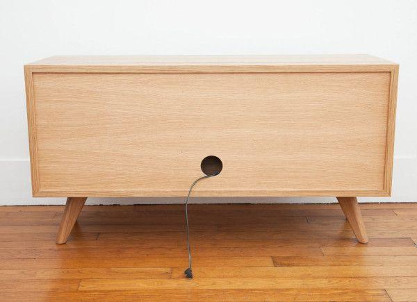 Hansen for Tivoli Audio: An Audio Furniture Collection - Design Milk