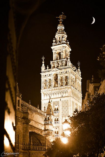 Seville, Spain, sister city of Kansas City, Mo. The KC Plaza was modeled after Seville architecture.