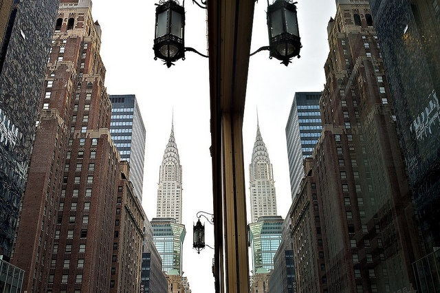 The Twin Chrysler Buildings