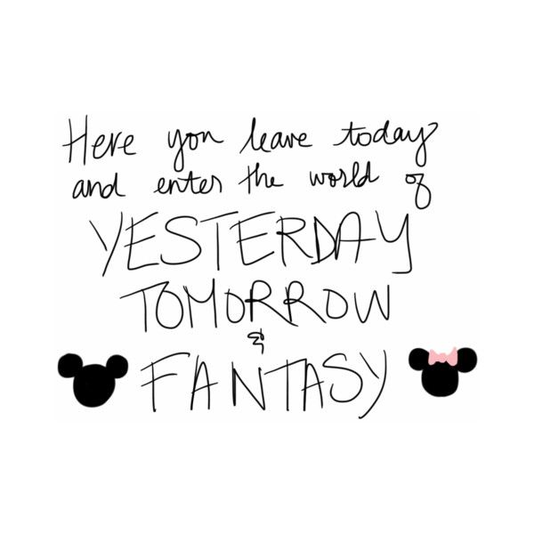 MICKEY AND MINNIE ❤ liked on Polyvore