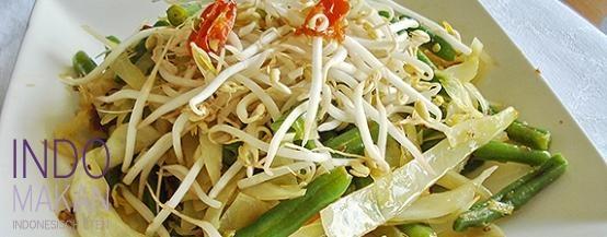 Buncis Khas Bali - Sperzieboontjes op Balinese wijze - Balinese style green beans