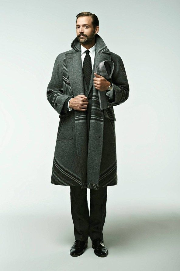 London Collections: Patrick Grant on his winter style essentials- My E. Tautz Plaid coat arrives tomorrow!