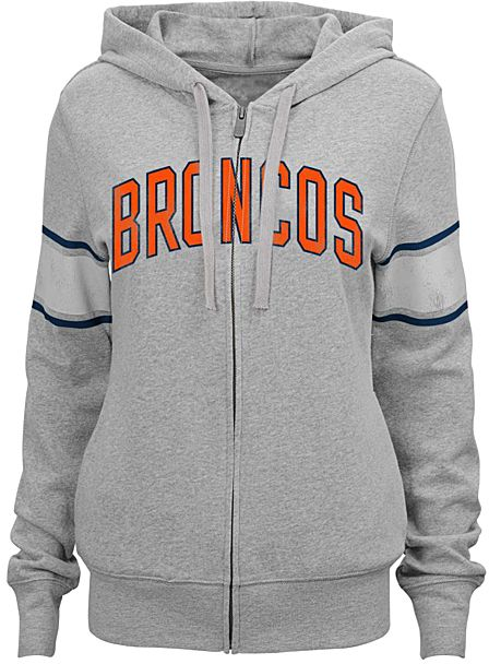 Denver Broncos Boyfriend Hoodie - Juniors
