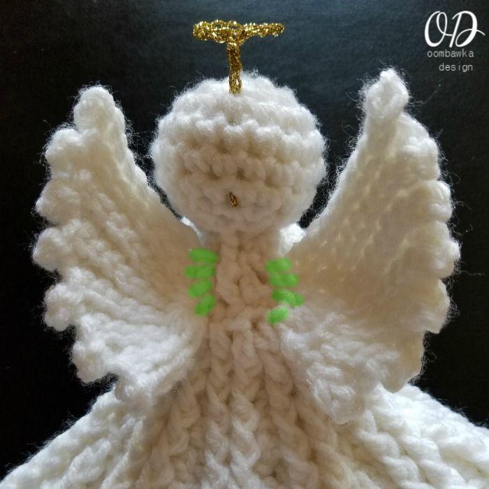 Contemporáneo Los Patrones De Ganchillo ángel De Navidad Libre ...