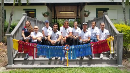Decorated by the blue, red, and yellow ribbons and smiles by all team members, Piaffe Performance is proud to conclude another season in Wellington, Florida