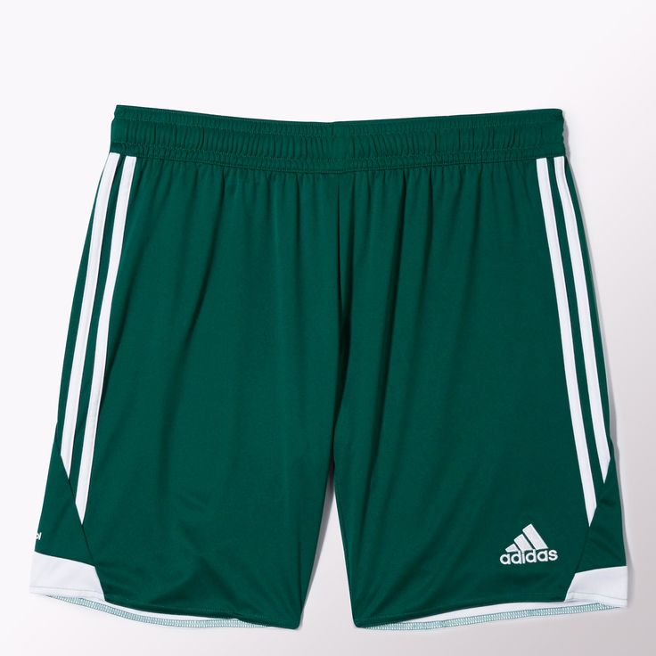 Heat stays out of your way when you wear the men's adidas Tiro 13 Shorts.  Designed with breathable climacool® ventilation, the soccer shorts feature  a ...