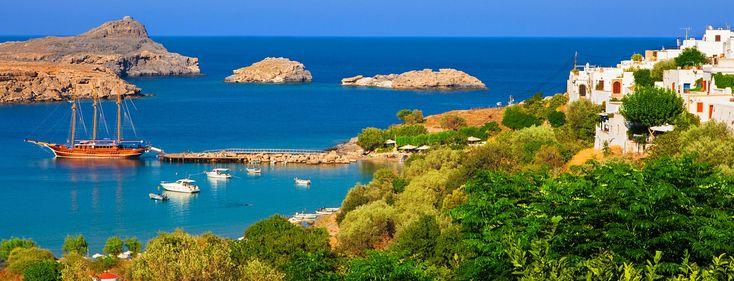Skala Kamirou Village Rhodes, Greece