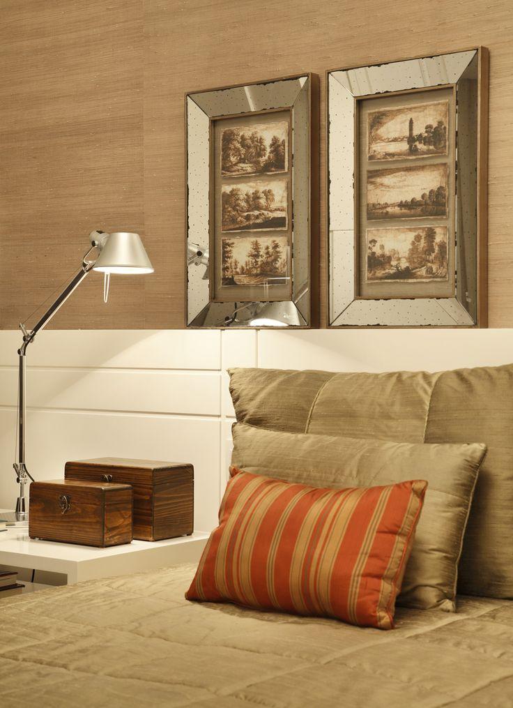 Atemporal e acolhedor. Veja: http://www.casadevalentina.com.br/projetos/detalhes/atemporal-e-acolhedor-610 #decor #decoracao #interior #design #casa #home #house #idea #ideia #detalhes #details #style #estilo #casadevalentina #bedroom #quarto