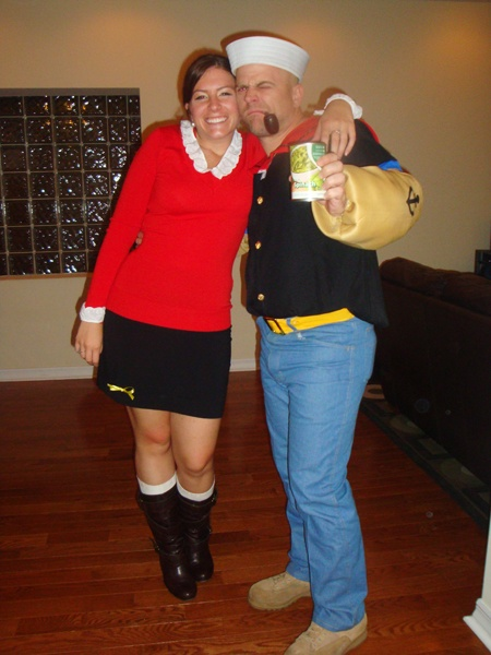 popeye and olive oil halloween costume halloween