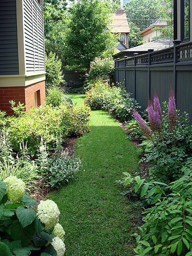 Remember To Landscape Your Side Yard For A Wonderful Passage From The Front  To Back,