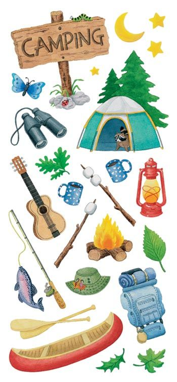Camping - might make a fun unit where Students  can learn more about plants, birds, animals, etc