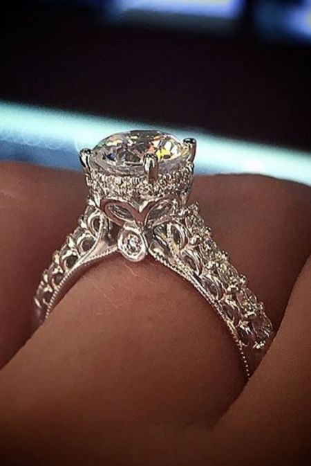 15 must see intricate engagement ring pins ring
