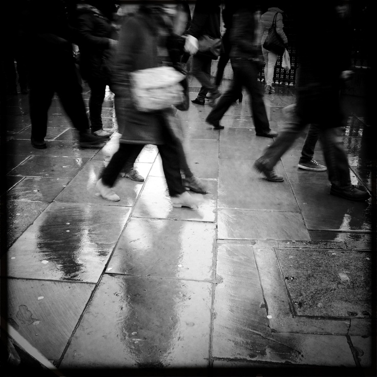Reflections in the London Rain