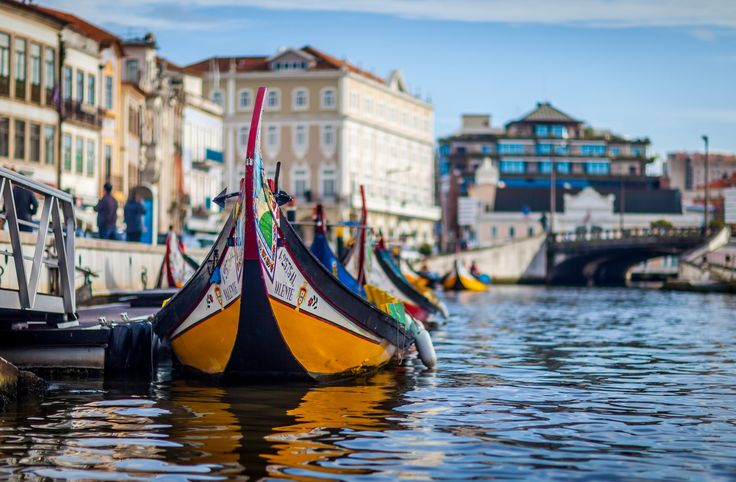 The 10 Most Romantic Places in Portugal - via Hortense Travel 13-02-2017 | The 10 Most Romantic Places to Visit in Portugal hand-picked by me for you. Tried and tested, I know you'll love them. Photo: Aveiro