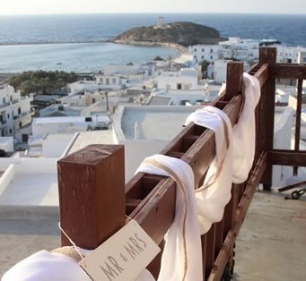 Kallina Coordinators: Wedding at Venetian Museum Della Rocca Barozzi - Beautiful backdrop #historic PORTARA, Naxos Island!