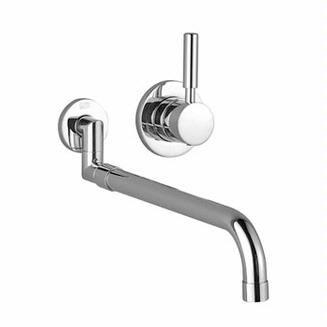 Dornbracht Meta.02 Wall Mount Kitchen Faucet 36 851 625 :: Kitchen Faucet  From