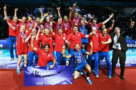 Russian team won World League 2013 (Photo: FIVB) #FIVB #volleyball