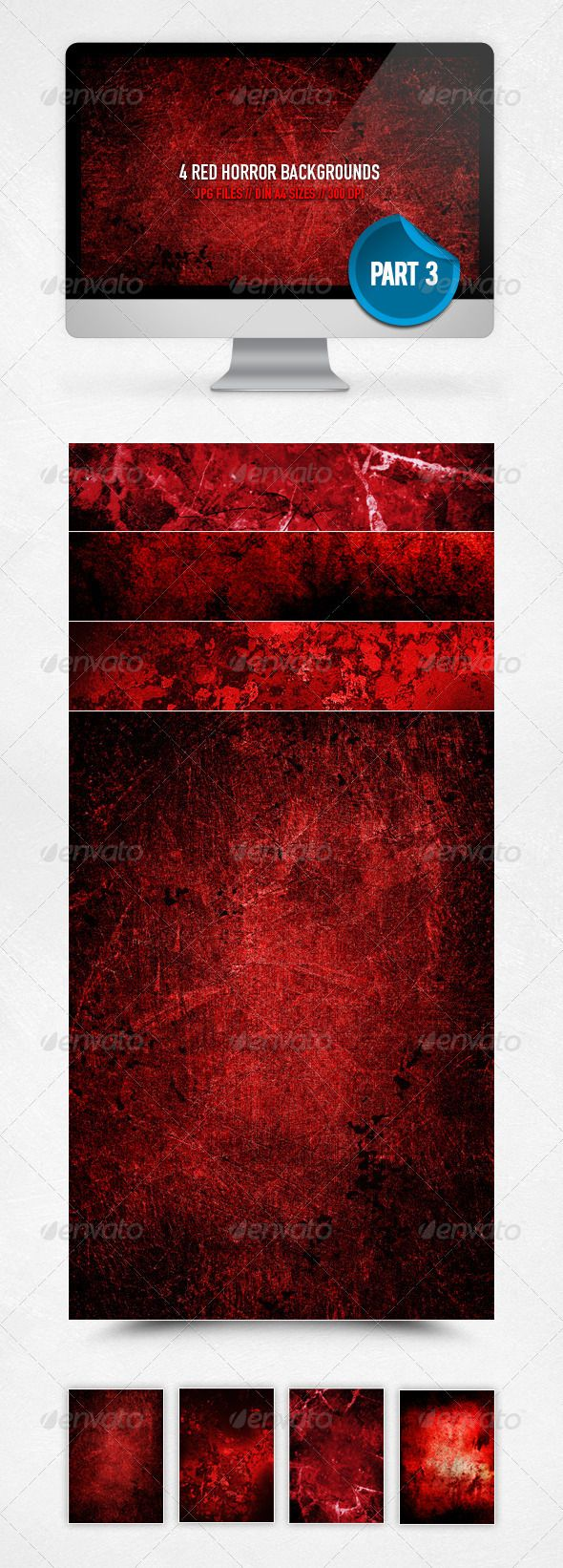 Red Horror Backgrounds - Part 3,a4, backgrounds, black, concrete, design, DIN A4, dirty, flyer, grunge, high resolution, horror, metal, poster, print, red, texture, underground, web