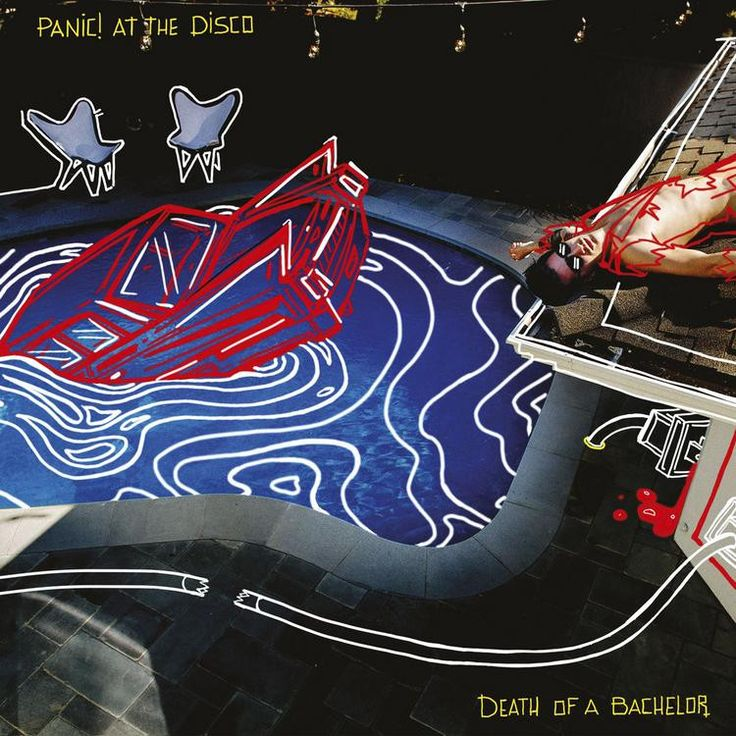 Panic! At The Disco - Death Of A Bachelor Vinyl Record