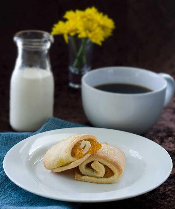 Gluten Free Apricot Cream Cheese Bars #http://simplygluten-free.com