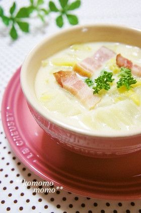 手間なし簡単♥白菜のクリームシチュー by komomoもも http://cookpad.com/recipe/2045745#share_other