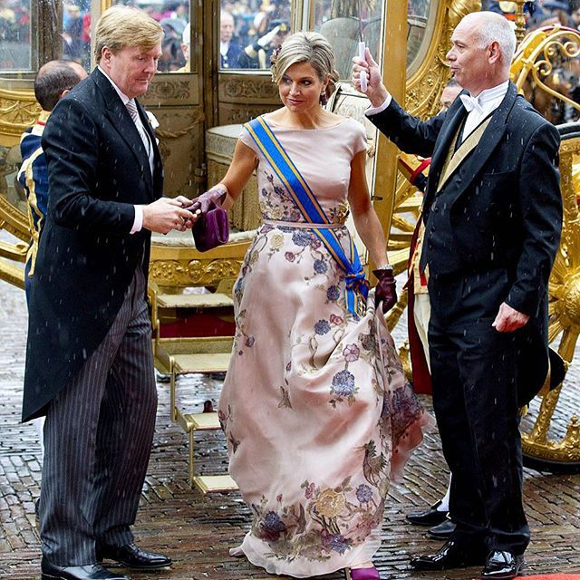 MyRoyals:  Prinsjesdag 2015, September 15, 2015-King Willem-Alexander and Queen Maxima attended the opening of parliament
