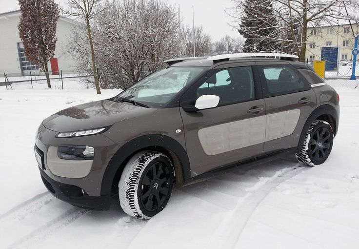 Citroen Cactus olive brown with black mags