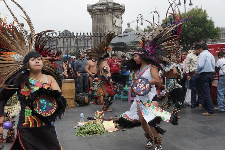#Mexico #Zocalo #aztec #dance