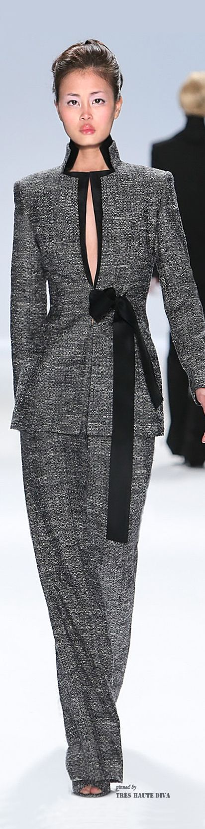 Zang Toi Fall/Winter 2014 women fashion outfit clothing stylish apparel @roressclothes closet ideas