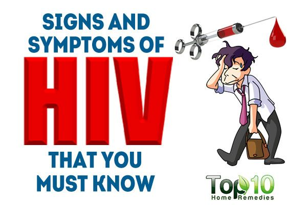 signs and symptoms of hiv and aids pdf