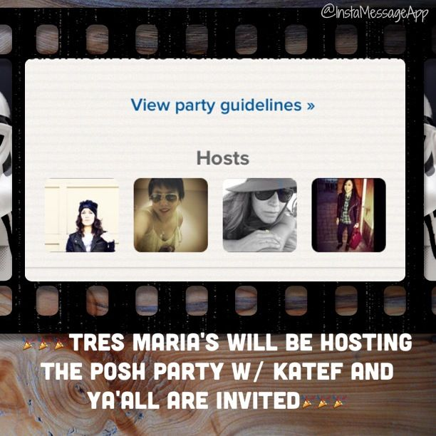 #poshmark party 7/19