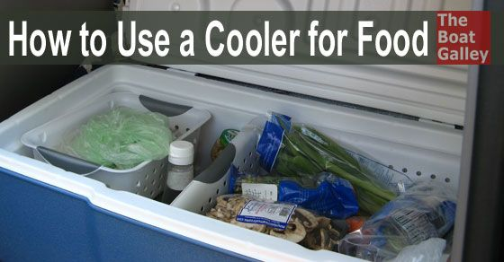 If you don't have a refrigerator, you can store a lot of fresh produce in a cooler with these tips to keep the food out of the melt water.