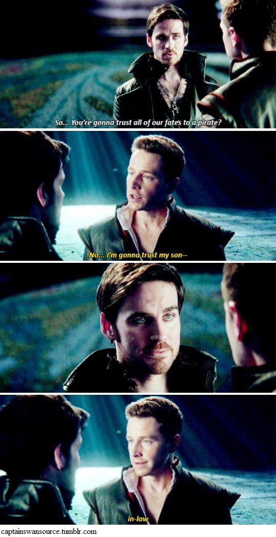 Hook was like *Bitch I've got three hundred years on you you can be MY son*
