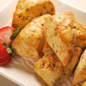 Bacon Scones, a recipe from ATCO Blue Flame Kitchen.