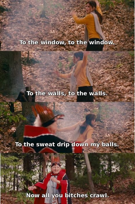 Lemme see you get low, you scared you scared! LOVE this movie!