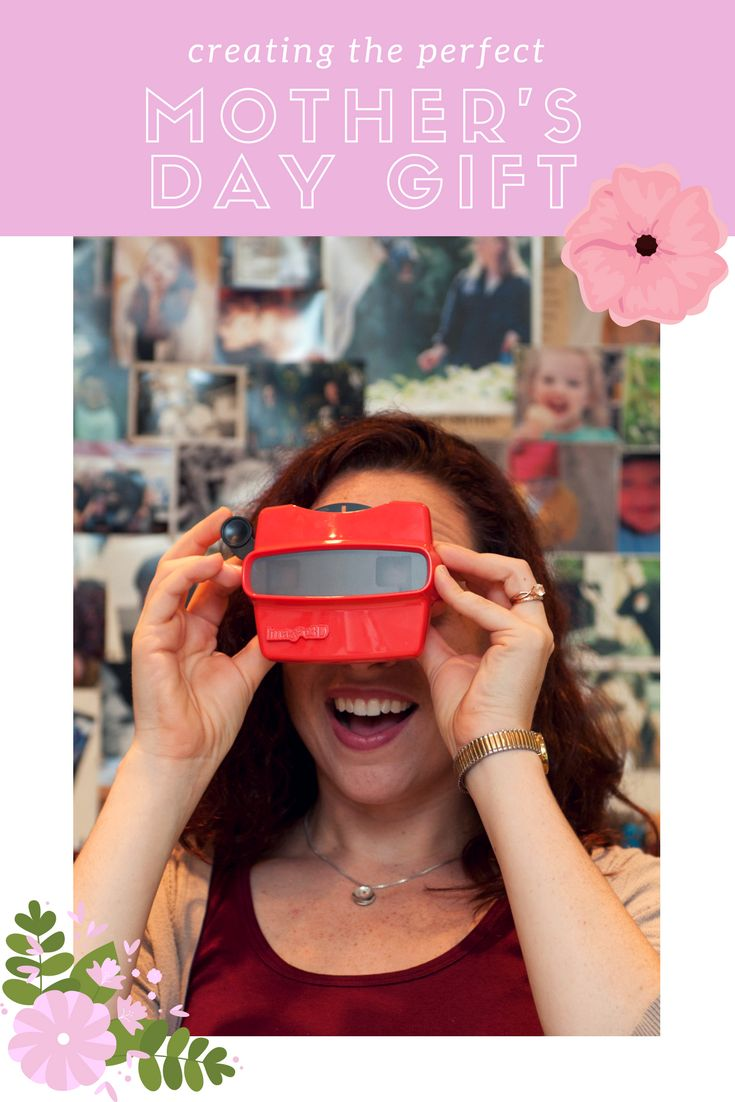 Mothers Day Gifts for 2018! This is a unique mother's day gift for your mom. Create a custom reel with your own photos! She'll ❤️ the surprise! #mothersday #mom #gifts #uniquegifts #perfectgift