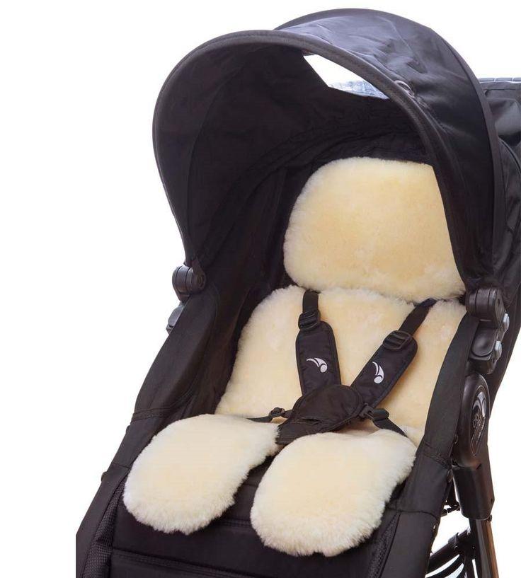 stroller sheepskin cover