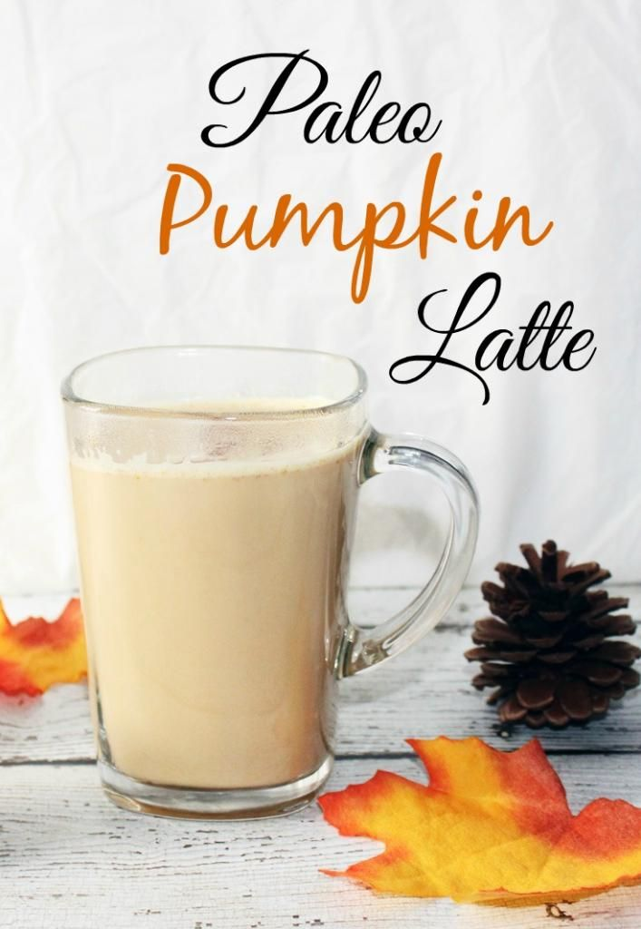 Paleo Coffee Drink #Recipe: Pumpkin Latte sponsored by @Erin Ridler Foods