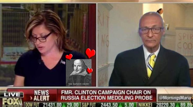 """SHE BROKE ME!""  Now there is a real journalist, Maria BartIromo shows us how it's done and punches the spirit cooking weirdo in the vagina. Podesta loses it as he is asked direct…"