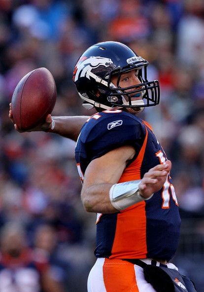 Tim Tebow Pictures Wild Card Playoffs - Pittsburgh Steelers v Denver Broncos -