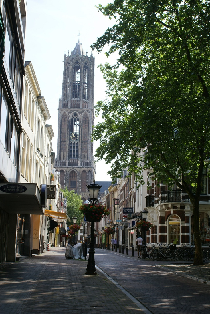 Utrecht's Dom Tower.  http://blog.favoroute.com/utrecht-in-one-day/