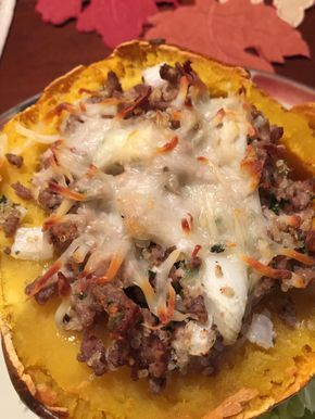 Stuffed Acorn Squash - 21 day fix