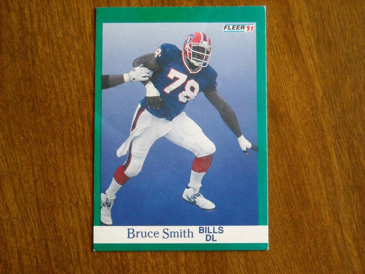 Bruce Smith Bills DL Card No. 11 (FB11) 1991 Fleer Football Card - for sale at Wenzel Thrifty Nickel ecrater store